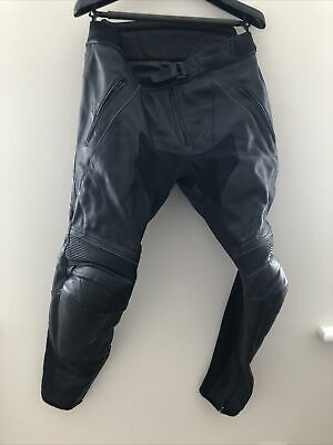Genuine Triumph Leather Motorcycle Trousers (UK36/EU46) • 22.40£