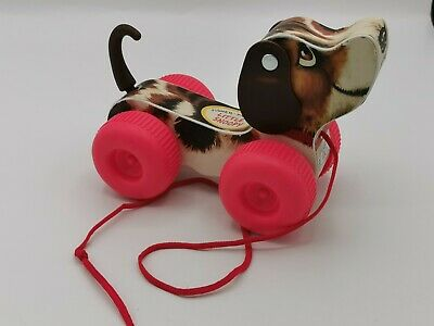 Fisher Price Little Snoopy Pull Along Dog Toy • 7.10£