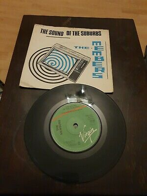 The Members 7  Vinyl Single The Sound Of The Suburbs, Pic Cover • 1.50£