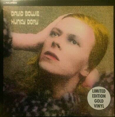 David Bowie - Hunky Dory Gold Vinyl 2017 New/sealed • 15£