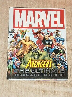 Marvel The Avengers Earth's Mightiest Hero's. The Ultimate Character Guide. • 5.50£