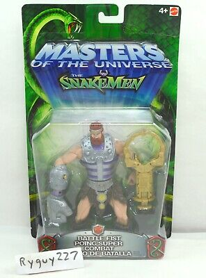 $105 • Buy MOTU, Battle Fist Fisto, 200x, Masters Of The Universe, MOC, Carded, Sealed