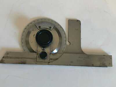 $99 • Buy Mauser Bevel Machinist Protractor With Box, Made In Germany For Scheer- Tumico