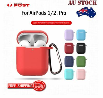 AU5.75 • Buy For Apple AirPods Pro ,1/2 Shockproof Protective Silicone Case AntiLost Cover