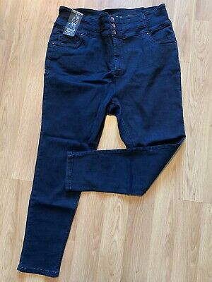 Womens Simply Be Shape And Sculpt Skinny High Waisted Jeans Size 24 Bnwt • 5£
