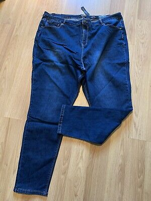 Womens Simply Be High Waisted Skinny Jeans Size 26 Bnwt Blue  • 5.99£