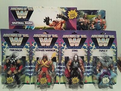 $269.99 • Buy Masters Of The WWE Universe Wave 1 And GREYSKULL RING Lot STING, WARRIOR, CENA