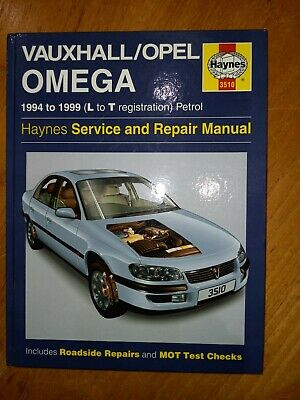 Haynes Manual Vauxhall/Opel Omega 1994 - 1999 Service And Repair Manual • 1.50£