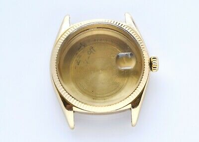 $ CDN3805.45 • Buy Genuine Vintage Rolex 1601 18k Gold Complete Case 36mm 1960's READ AS IS