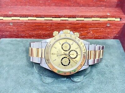 $ CDN25210 • Buy Excellent Rolex Daytona Champagne Dial 16523 Two-Tone 1996 Box & Papers