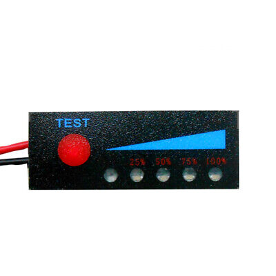 £6.19 • Buy Led Charge Status Voltage Meter Thin Indicator Module Accurate Lithium Battery