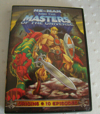 $3 • Buy DVD--He-Man And The Masters Of The Universe: Origins (DVD, 2009)