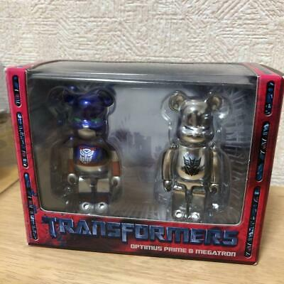 $196 • Buy Transformers Optimus Prime Megatron Bearbrick 100% Be@rbrick Figure Limited
