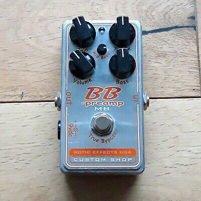 Xotic BBP-MB Custom Shop BB Preamp With Mid Boost Overdrive Distortion Pedal • 105£
