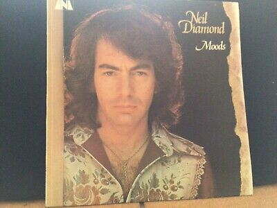 Neil Diamond,  Moods  UK Vinyl LP -Vinyl In Mint • 8£