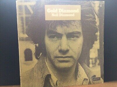 NEIL DIAMOND GOLD DIAMOND UK VINYL LP -vinyl In Mint • 8£