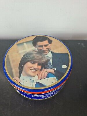£12.50 • Buy Vintage 1980's Charles & Diana Biscuit Tin Peticoat Tail Shortbread