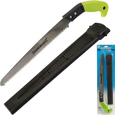 £8.29 • Buy Silverline 270mm Handsaw Tree Surgery Pruning Saw Hand Tool With Sheath