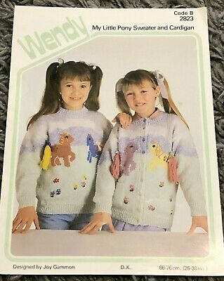 Wendy My Little Pony Sweater And Cardigans Knitting Patterns  • 3£