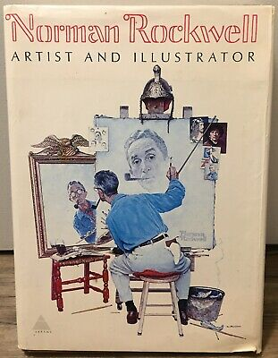 $ CDN18.82 • Buy Norman Rockwell, Artist And Illustrator FIRST EDITION 1970 HARDCOVER