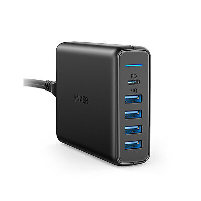 AU55.44 • Buy Anker PowerPort Speed PD 5 - USB-C Power Delivery 60W Charge MacBook Pro
