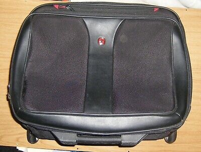 Wenger Swiss Gear Wheeled Briefcase Travel Case Luggage Laptop Cabin Bag • 30£