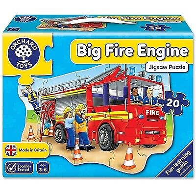 £11.25 • Buy Orchard Toys Big Fire Engine Jigsaw Puzzle Home Learning Educational Games