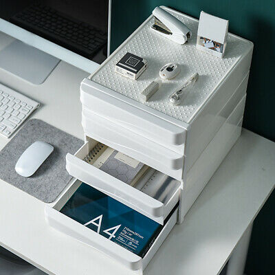 £35.59 • Buy A4 Drawer Type Office Desktop Storage Box Nordic Style School Paper Documents