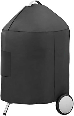 "$ CDN43.03 • Buy 27.5  BBQ Grill Cover Kettle For Weber 22  & Member's Mark 22.5"" Charcoal Grills"