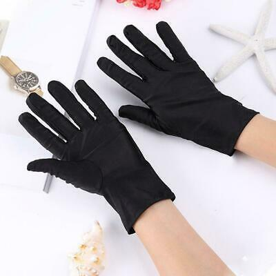 £2.18 • Buy Short Wrist Gloves Smooth Satin For Party Dress Prom W/ Wedding Evening H4T1