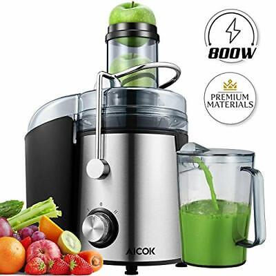 Juicer Machines AICOK 800W Juicer Extractor Quick Juicing For Whole Fruit And • 79.63£