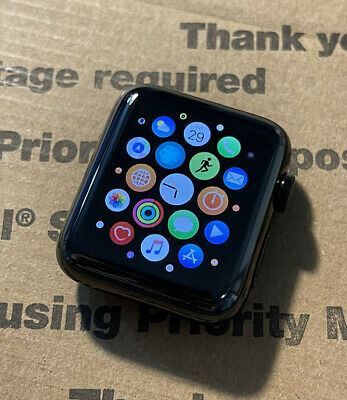 $ CDN137.47 • Buy Apple Watch Series 2 42mm Black Stainless Steel Case *Watch Only* *Tested, Works
