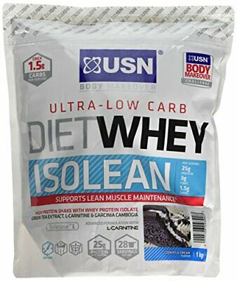 £27.99 • Buy Diet Whey Isolean Protein, Cookies And Cream - 1 Kg