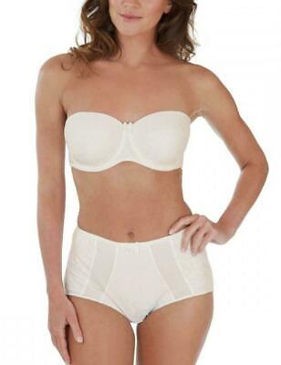 £10.50 • Buy REDUCED ! CHARNOS Superfit Lace High Rise Deep Brief Knicker Size 12 IVORY