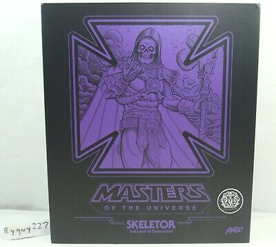 $595 • Buy Mondo Exclusive Skeletor, Masters Of The Universe, 1/6 Scale, 12 Inch, He-Man