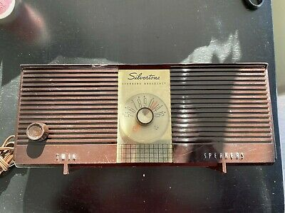 $ CDN13.96 • Buy Vintage Silvertone (Sears&Roebuck) Portable Tube Radio Model No. 9004