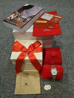 Omega Seamaster Aqua Terra Ladies Watch 2373.70.00 Steel And 18ct Rose Gold • 2,800£