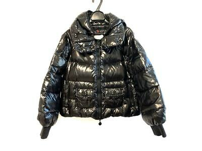 AU682.48 • Buy Auth MONCLER CLUNY Cluny Black Nylon Womens Down Jacket #0