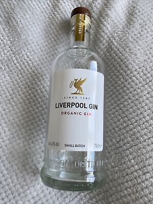 Liverpool Empty Gin Bottle/ Wedding Craft/ Upcyling/ 70cl/ Art Decorative/ Glass • 4.99£