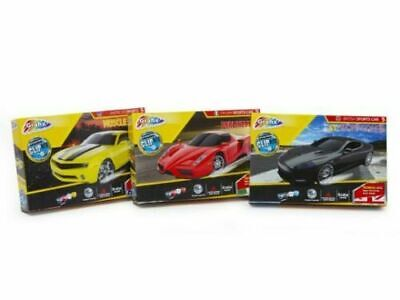 3 X Model Car Clip Kits Age 7+ Grafix FREE DEL • 13.99£