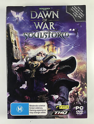 AU29.90 • Buy Dawn Of War SoulStorm Expansion (PC Game) 2004 Original Small Box THQ