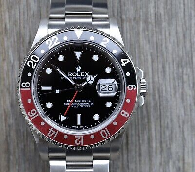 $ CDN19498.36 • Buy Rolex GMT-Master II Coke 16710 Y-Serial – 2002