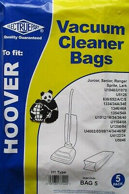£5.22 • Buy Hoover Junior Paper Dust Bags Bags X 10 (2 X Packets Of 5)