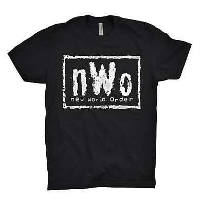 $ CDN17.27 • Buy NWO T Shirt New World Order Illuminati Mason Listen And Obey Wrestling WCW WWF