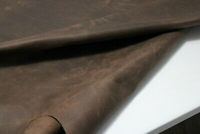 £39.75 • Buy BROWN DISTRESSED FLOATER LEATHER HIDE Thickness : 1.6-1.8 Mm/ 4-4.5 Oz - 9 SqFt