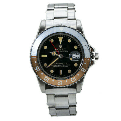 $ CDN48361.96 • Buy Rolex GMT Master 1675 1966 Gilt Watch Box Double Punched Papers Service Card