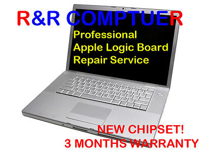 $135 • Buy Macbook Pro A1260 A1229 Logic Board Laptop New Nvidia Video Chip Installation