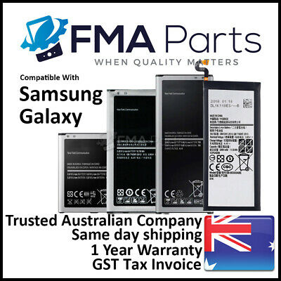 AU15.95 • Buy High Quality Battery Samsung Galaxy S4 S5 S6 S7 S8 S9 S10 Edge Note 3 4 5 8 9 10
