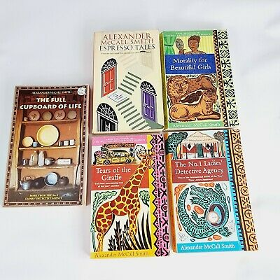 AU14.95 • Buy 5x Books  By Alexander McCall Smith. No 1 Ladies Detective Agency (Paperbooks)