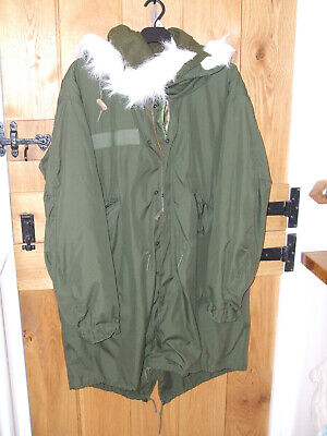 $386.55 • Buy M65 US Army Mod Fishtail Parka Liner & Hood Medium . Immaculate Condition Ace !!